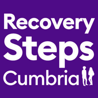 The logo for Recovery Steps Cumbria